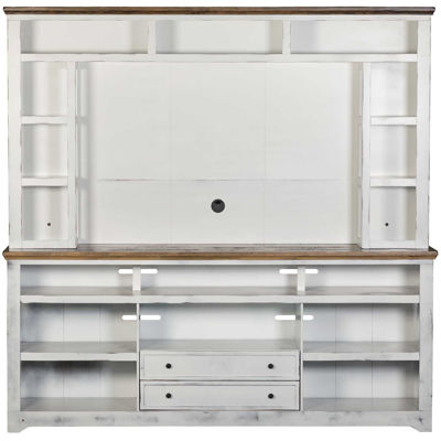 "Picture of Qatar 84"" TV Stand & Hutch"