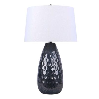 Picture of Metallic Gun Metal Table Lamp