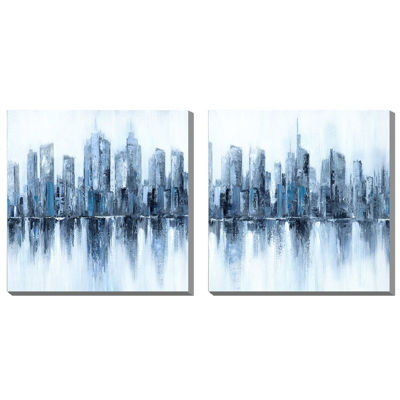 Picture of Set of 2 Buildings Art