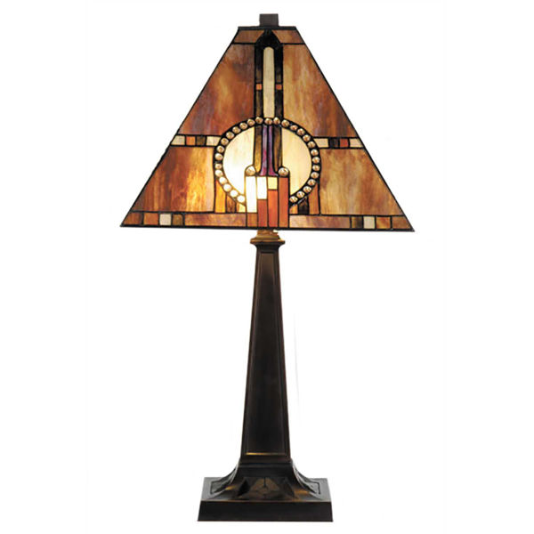 Picture of Circle Bead Tiffany Table Lamp