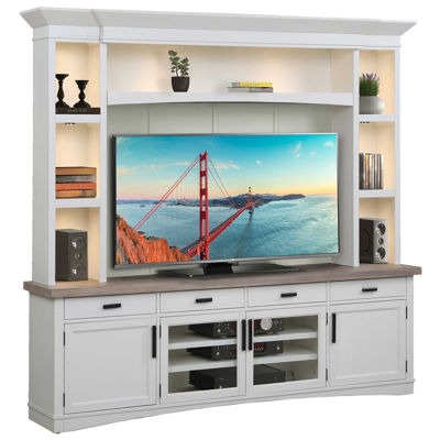 Picture of Americana White Wall Unit