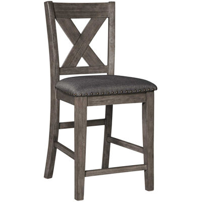 "Picture of Caitbrook 24"" Barstool with Back"