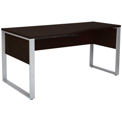 Picture of Fontana Crescent Shape Desk, Espresso
