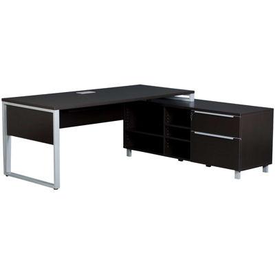 Picture of Fontana Executive Desk, Espresso