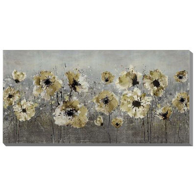Picture of Embellished Floral Art