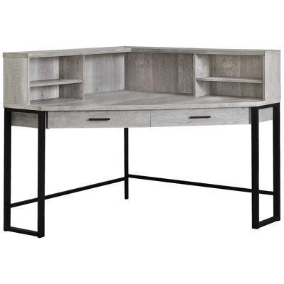 """Picture of Gray 48 """" Corner Desk"""