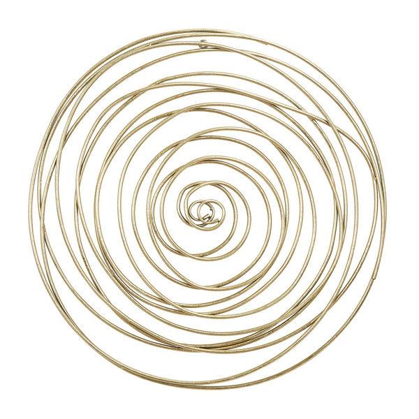 Gold Metal Circle Wall Decor 14596 02, Round Wall Decor Metal