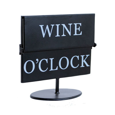 Picture of Wine O'clock Flip Sign