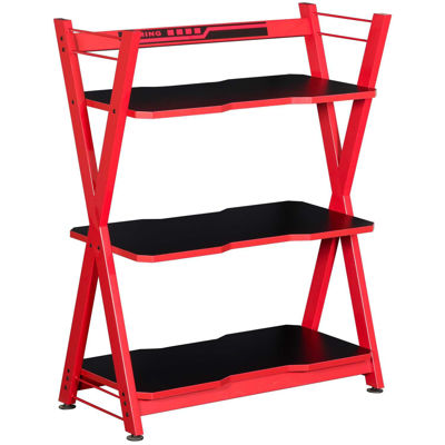 Picture of Red Metal Bookshelf
