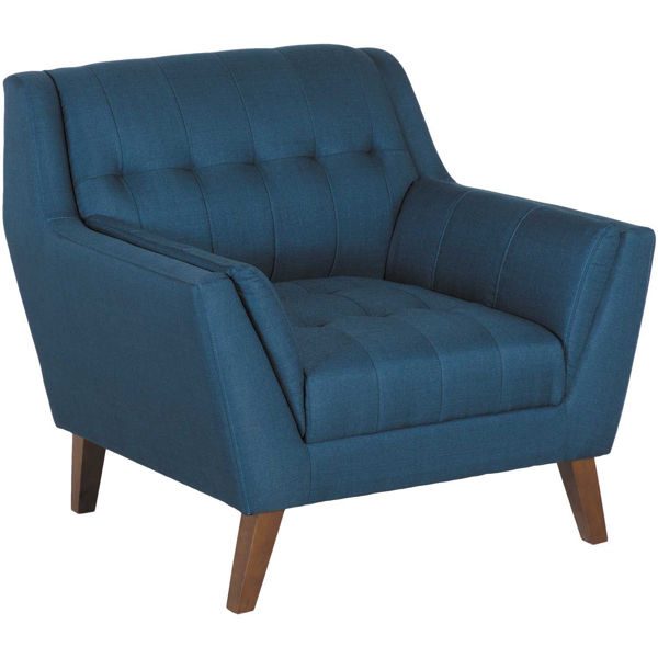 Picture of Binetti Retro Navy Chair