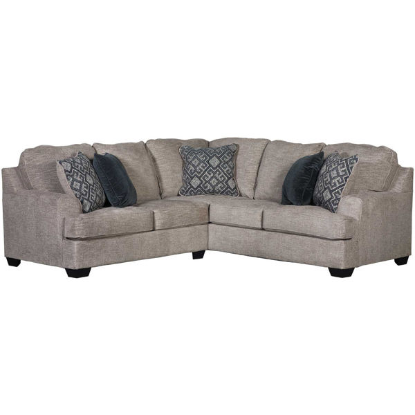 Picture of Bovarian Stone 2 Piece Sectional with RAF Sofa