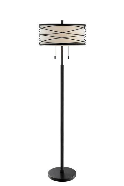 Picture of Lumiere Metal Swirl Floor Lamp
