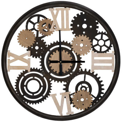 Picture of Metal Gears Wall Clock