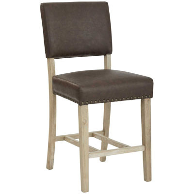 Picture of Carson Counter Barstool Espresso Fabric