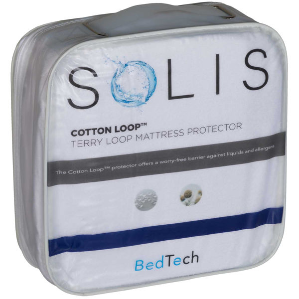 Picture of Cotton Loop Cal King Mattress Protector