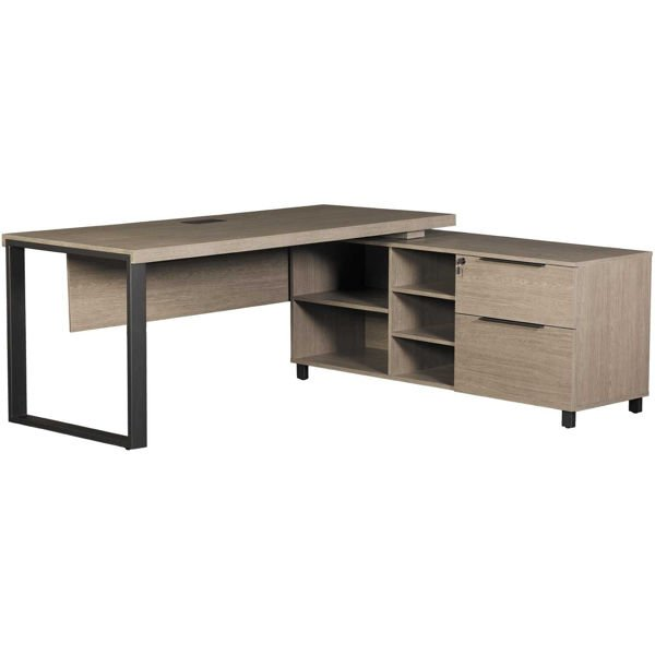 Picture of Portland Executive Desk & Cabinet