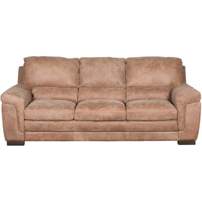 Knox Italian All Leather Sofa 4929s Grand Outback Espresso 3 Soft Line Afw Com