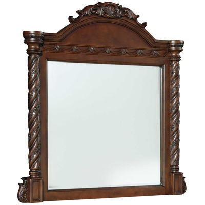 Picture of North Shore Crown Top Mirror