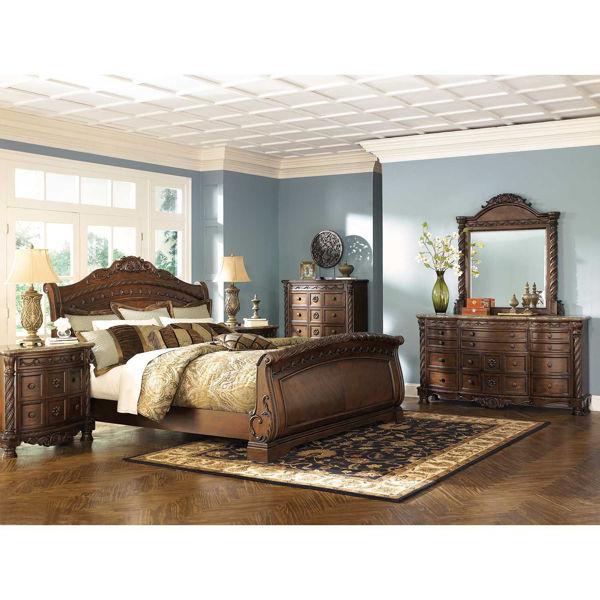 North S 5 Piece Bedroom Set B553, Ashley Furniture South Coast Bedroom Set