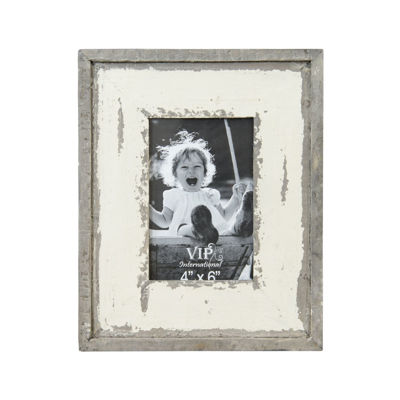 Picture of Piture Frame White Distressed