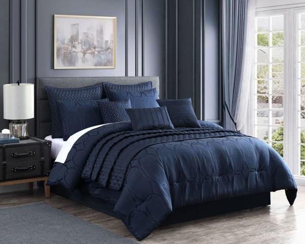 Picture of Danielle 10 Piece Queen Comforter Set