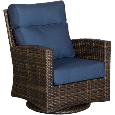 Picture of Grand Palm Swivel Glider with Cushions
