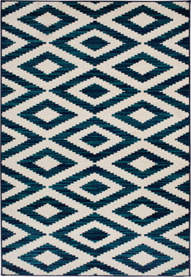 Picture of Scaline Sapphire Snow 5x7 Rug