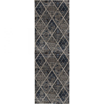 Picture of Braddyville Vintage Panels 2x7 Rug