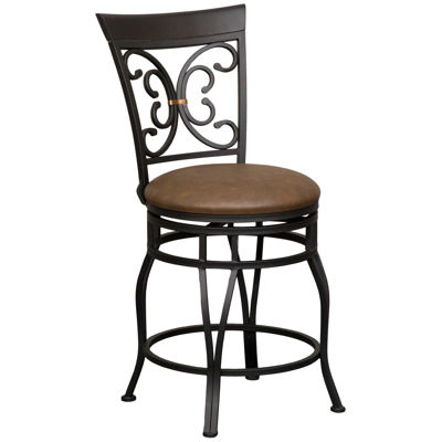 Picture of Elise 24-Inch Armless Swivel Barstool
