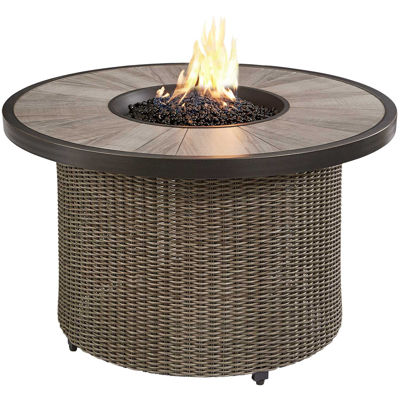 """Picture of Oak Grove 42"""" Round Gass Fire Pit"""