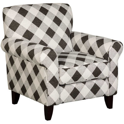Picture of Abby Road Gingham Accent Chair