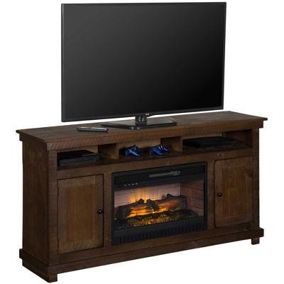Picture of La Costa Medium Rustic 60-Inch Fireplace Console