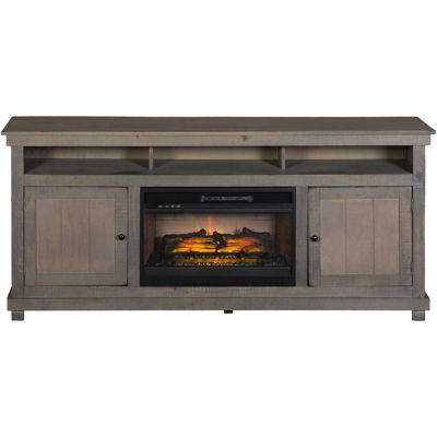 Picture of La Costa Overland Gray 72-Inch Fireplace Console
