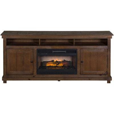 Picture of La Costa Medium Rustic 72-Inch Fireplace Console