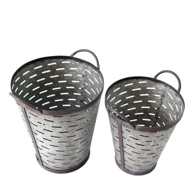 Picture of Set 2 Slotted Pails