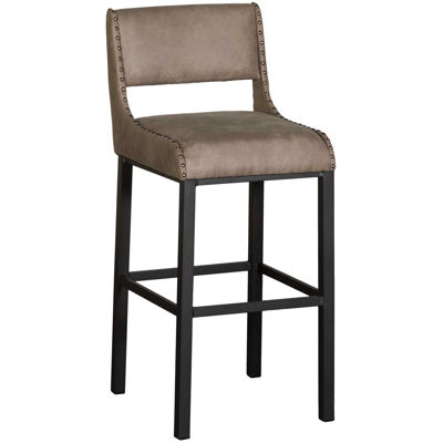 """Picture of 30"""" Fully Welded Stationary Barstool"""
