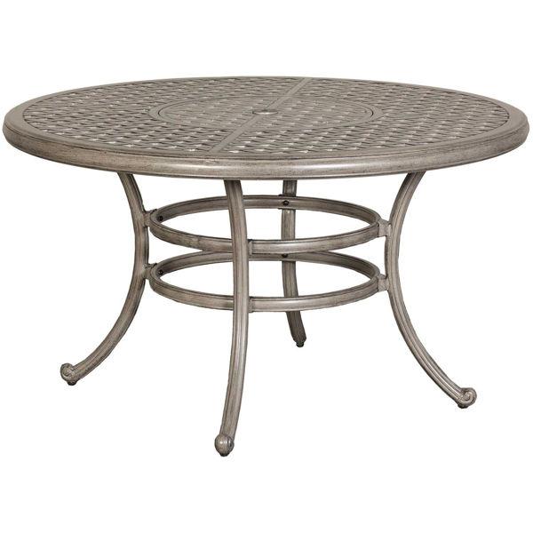 Macon 52 Round Patio Dining Table, Round Patio Tables