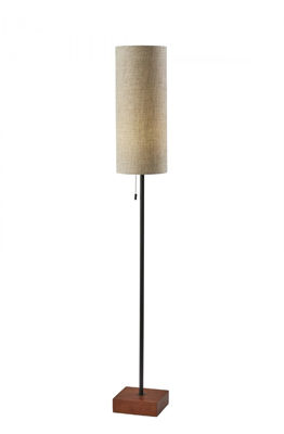 Picture of Trudy Floor Lamp Black/Wood