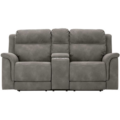 Picture of Next Gen Slate P2 Reclining Console Loveseat