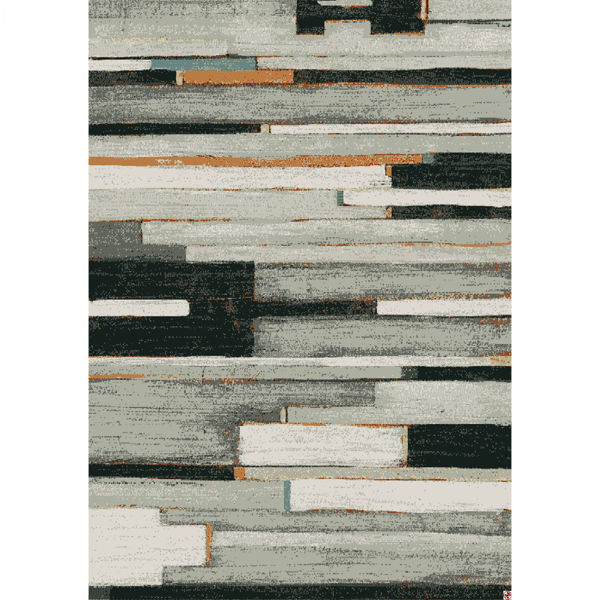 Picture of Compose Charcoal 5x8 Rug