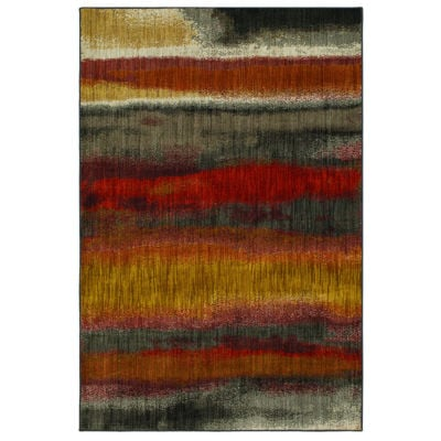 Picture of Odin Rust Multi 5x8 Rug