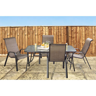 Picture of Rushmore 5 Piece Patio Dining Set