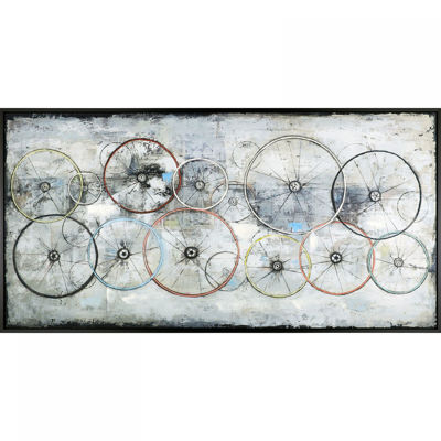 Picture of Bike Wheels Wall Decor