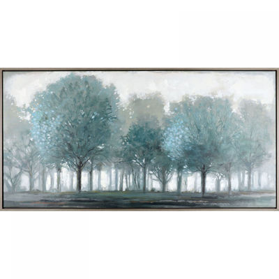 Picture of Teal Trees Wall Decor