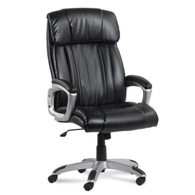 Picture of Black Leather Executive Chair