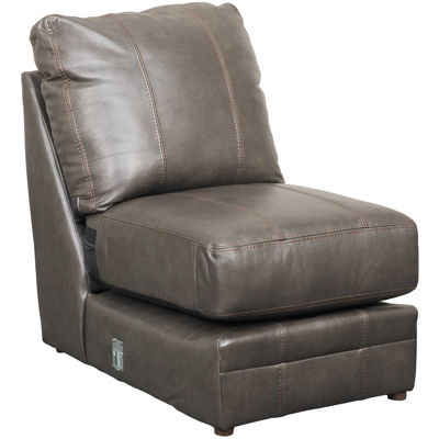 Picture of Denali Italian Leather Armless Chair